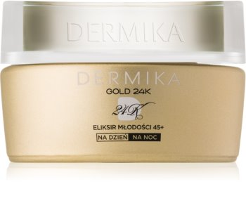 Dermika Gold 24k Total Benefit crema anti-age di lusso  45+