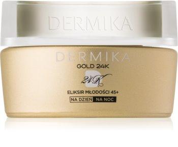 Dermika Gold 24k Total Benefit Luksuriøs foryngende creme 45+