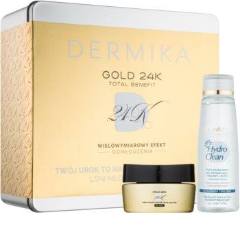Dermika Gold 24k Total Benefit kozmetická sada II. pre ženy