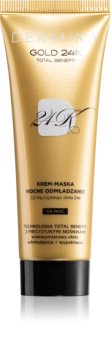 Dermika Gold 24k Total Benefit інтенсивна омолоджуюча маска