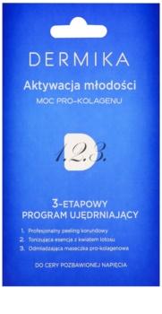 Dermika 1. 2. 3. háromfázisú feszesítő ápolás érett bőrre