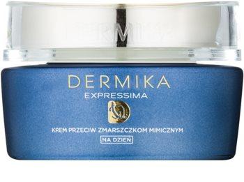 Dermika Expressima хидратиращ дневен крем против мимични бръчки