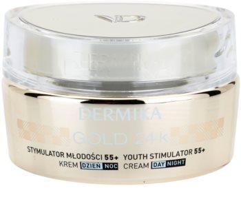 Dermika Gold 24k Total Benefit crema anti-age di lusso  55+