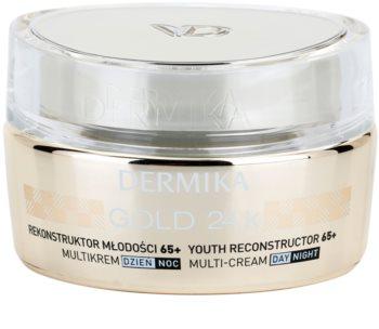Dermika Gold 24k Total Benefit Luxurious Rejuvenating Cream 65+