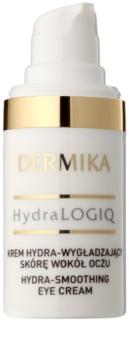 Dermika HydraLOGIQ crema para contorno de ojos suavizante 30+
