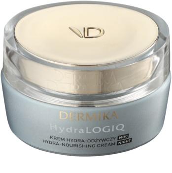 Dermika HydraLOGIQ crème de nuit nourrissante pour un effet naturel