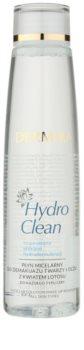 Dermika HydroClean мицеларна почистваща вода за лице и очи