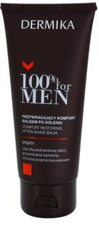 Dermika 100% for Men zklidňující balzám po holení