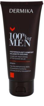 Dermika 100% for Men успокояващ балсам след бръснене