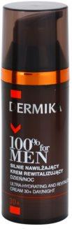Dermika 100% for Men crema altamente idratante e rivitalizzante 30+
