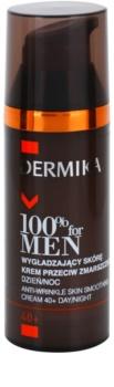 Dermika 100% for Men wygładzający krem przeciwzmarszczkowy 40+