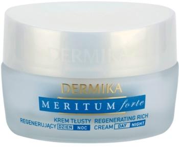 Dermika Meritum Forte creme regenerador   para pele seca