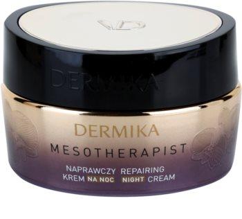 Dermika Mesotherapist crema de noche reparadora  para pieles maduras