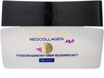 Dermika Neocollagen M+ нощен регенериращ крем с фитоестрогени