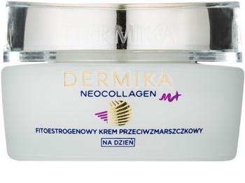 Dermika Neocollagen M+ creme de noite regenerador com fitoestrógenos
