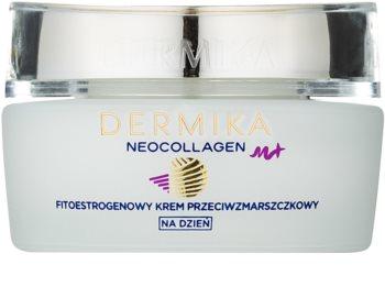 Dermika Neocollagen M+ дневен регенериращ крем с фитоестрогени