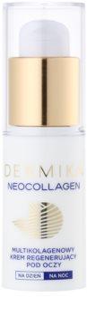 Dermika Neocollagen regenerierende und festigende Creme für die Augenpartien