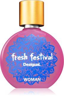 Desigual Fresh Festival Eau de Toilette für Damen