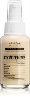Detox Skinfood Key Ingredients siero viso
