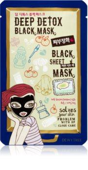 Dewytree Black Mask Deep Detox Detoksująca maska płócienna
