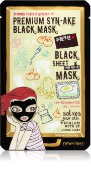 Dewytree Black Mask Syn-ake maseczka płócienna