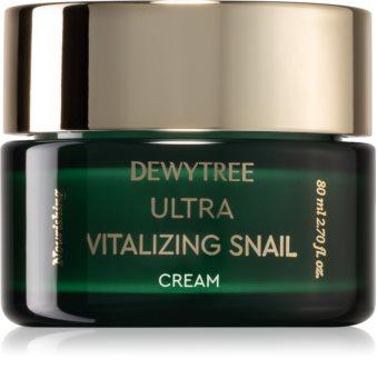 Dewytree Ultra Vitalizing Snail crème hydratante en profondeur à l'extrait de bave d'escargot