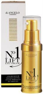 Di Angelo Cosmetics No1 Lift крем для шкіри навколо очей для миттєвого розгладження зморшок