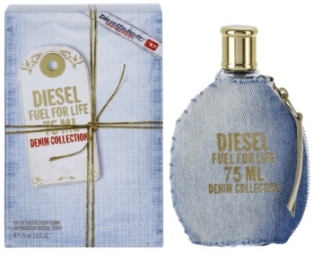 Diesel Fuel for Life Femme Denim Eau de Toilette para mulheres 75 ml