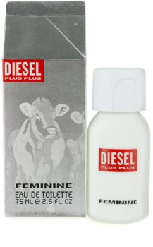 Diesel Plus Plus Feminine Eau de Toilette para mulheres 75 ml