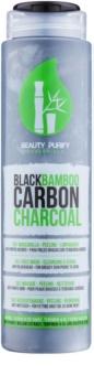 Diet Esthetic Beauty Purify máscara facial feita de carvão de bambu preto 3 em 1