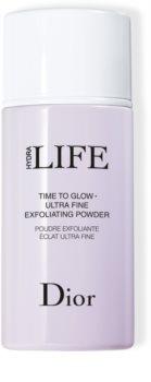 Dior Hydra Life Time To Glow очищуюча пудра з ефектом пілінгу