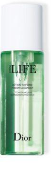 Dior Hydra Life Lotion To Foam Fresh Cleanser frissítő tisztító hab