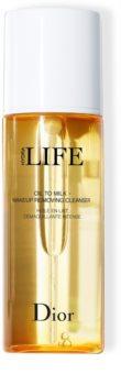 Dior Hydra Life Oil To Milk Makeup Removing Cleanser олио за премахване на грим