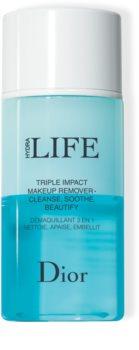 DIOR Hydra Life Triple Impact Makeup Remover démaquillant 3 en 1 nettoie, apaise, embellit