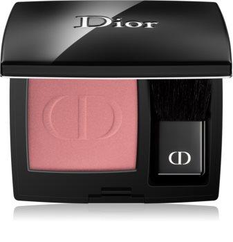 Dior Rouge Blush kompaktní tvářenka se štětcem a zrcátkem