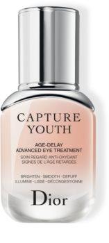 Dior Capture Youth Age-Delay Advanced Eye Treatment грижа за околоочната зона против бръчки, отоци и тъмни кръгове