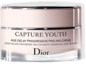 Dior Capture Youth Age-Delay Progressive Peeling Creme gyengéd peelinges krém