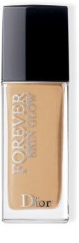 Dior Dior Forever Skin Glow озаряващ хидратиращ фон дьо тен SPF 35