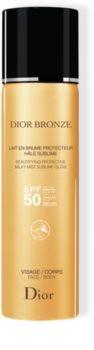DIOR Dior Bronze Beautifying Protective Milky Mist Sublime Glow protetor solar em spray SPF 50