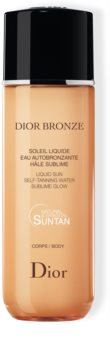 DIOR Dior Bronze Self-Tanning Liquid Sun água bronzeadora para corpo