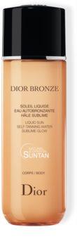 DIOR Dior Bronze Self-Tanning Liquid Sun önbarnító víz testre