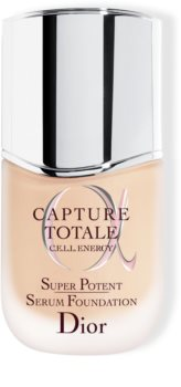 DIOR Capture Totale Super Potent Serum Foundation make-up a bőr öregedése ellen SPF 20