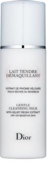 Dior Cleansers & Toners leite de limpeza para pele seca e sensível