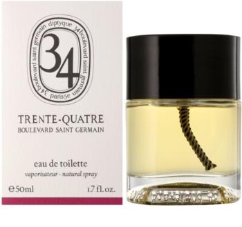 Diptyque 34 Boulevard Saint Germain Trente - Quatre toaletná voda unisex