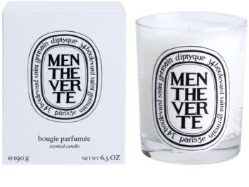 Diptyque Menthe Verte vela perfumada  190 g
