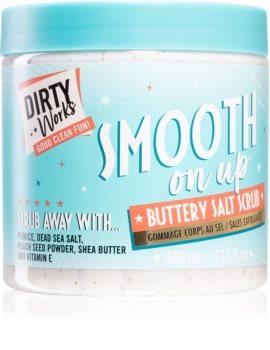 Dirty Works Smooth on up crema exfolianta pentru corp