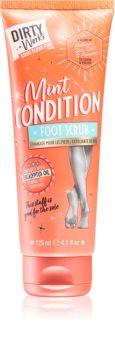 Dirty Works Mint Condition exfoliant pentru corp pentru picioare