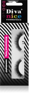Diva & Nice Cosmetics Accessories Stick-On Eyelashes From Human Hair