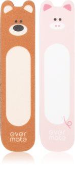 Diva & Nice Cosmetics Accessories feine Nagelfeile und Polierstick