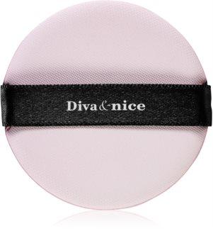 Diva & Nice Cosmetics Accessories éponge à fond de teint